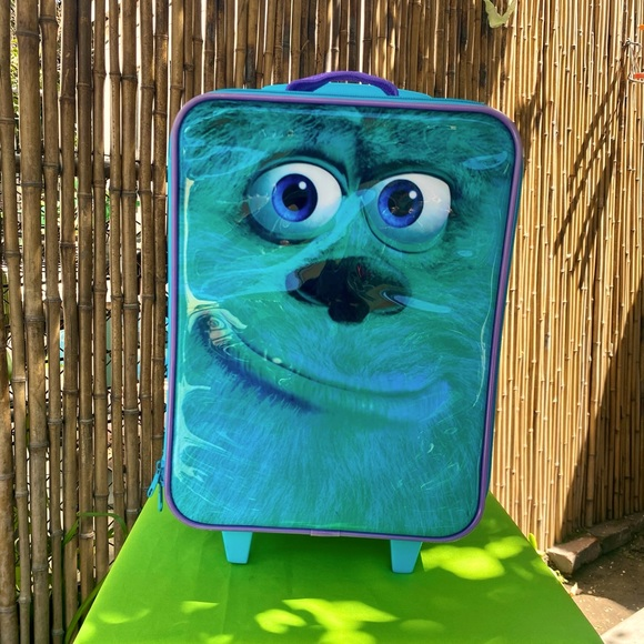 """Disney's Monsters, INC """"Sulley"""" Suitcase"""